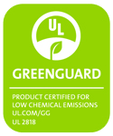 Our greenguard certification badge