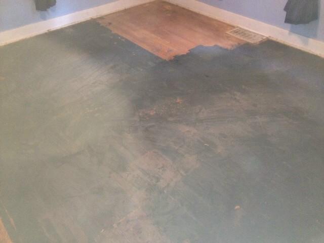 damaged wood flooring in the oak park, IL area