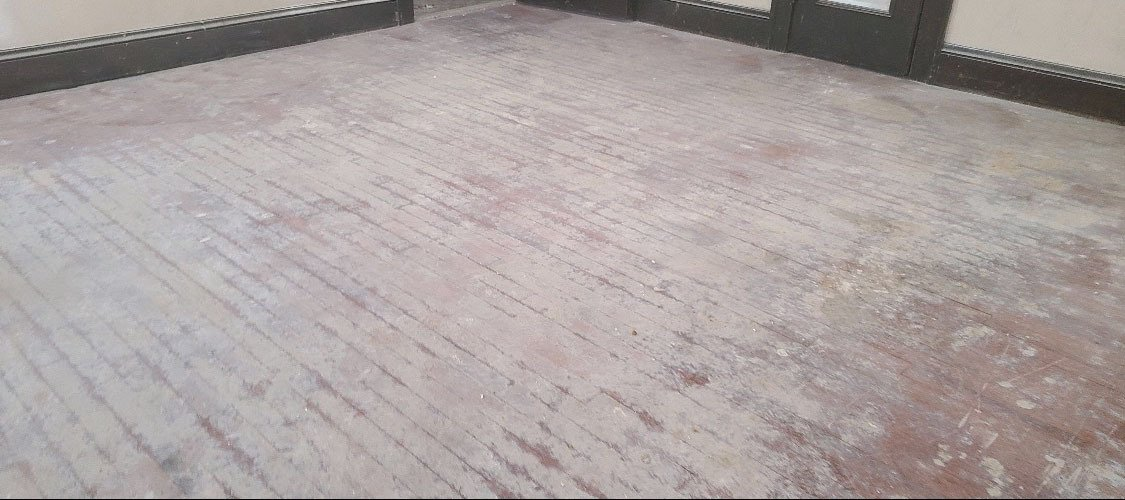damaged wood flooring in the chicago area